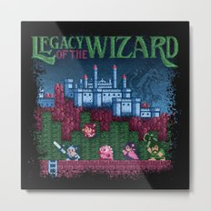 Wizard of the Legacy Metal Print