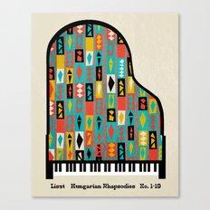 Liszt - Hungarian Rhapsodies Canvas Print
