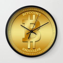 Bitcion Logic Wall Clock