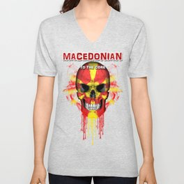 To The Core Collection: Macedonia Unisex V-Neck