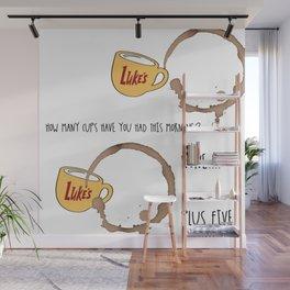 Luke's diner Wall Mural