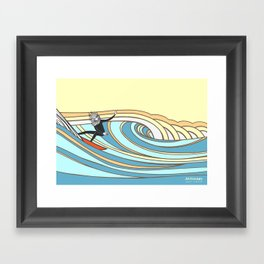 Joe Vickers Jonas Claesson Collab Framed Art Print