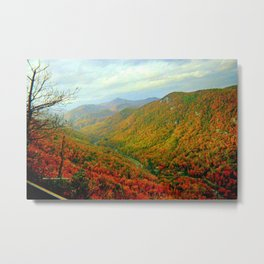Gorgeous Chimney Rock in Late Autumn Metal Print