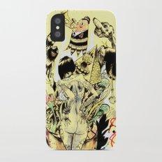 SEARCH & DESTROY. Slim Case iPhone X