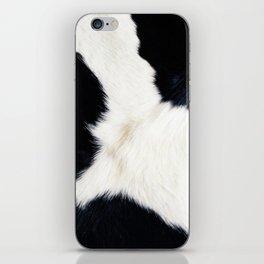 Farmhouse Cowhide iPhone Skin