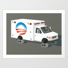 Obamacare is Now Beyond Rescue Art Print