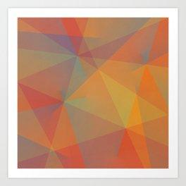 Multi Gradient No. 1  Art Print