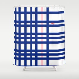 Modern stripes Shower Curtain