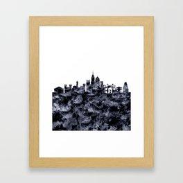 Bangalore Skyline India Framed Art Print
