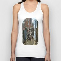 jewish Tank Tops featuring Rainy Day, Washington, D.C. by Brown Eyed Lady