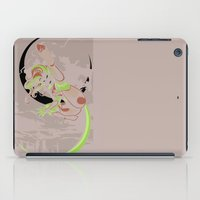 superheroes iPad Cases featuring Superheroes SF by cnmdesigns