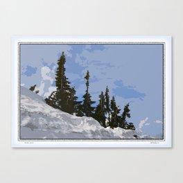 WINTER SPIRES Canvas Print