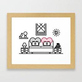 Bedtime Framed Art Print