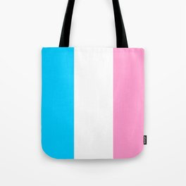 Parody of the french flag -France,Paris, pink, Marseille, lyon, Bordeaux,love, girly,fun,idyll,Nice Tote Bag