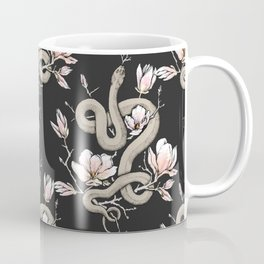 Magnolia and Serpent Coffee Mug
