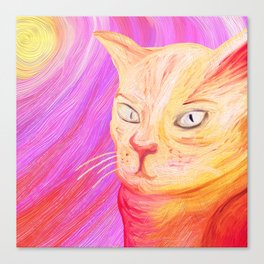 Aristocrat Cat  Canvas Print