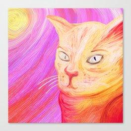 Aristocrat Cat  Canvas Print