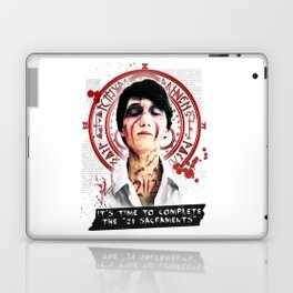 """Silent Hill - It's time to complete the """"21 Sacraments"""" Laptop & iPad Skin"""