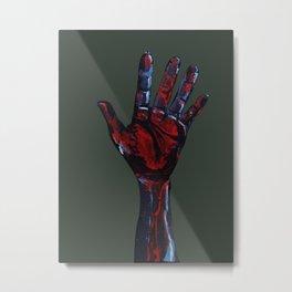 Hand of Death Metal Print
