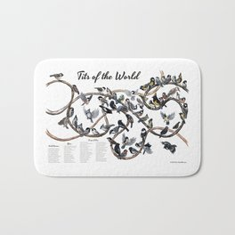 Tits of the World Bath Mat