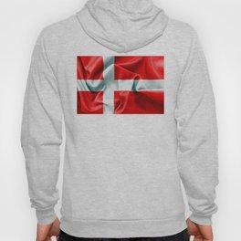 Denmark Flag Hoody
