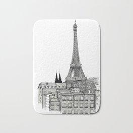 City view of paris Bath Mat