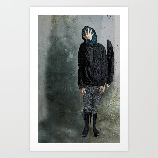 String Theory: Collapsing Wavefunction, First Tangible Art Print