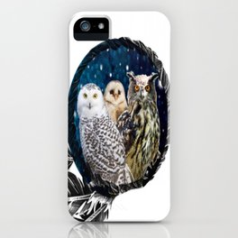 Owls Dream iPhone Case