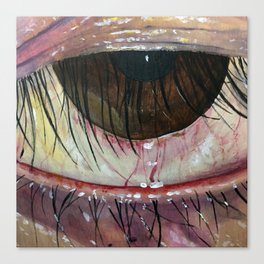 Sasha's Eye Canvas Print