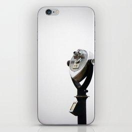 grey iPhone Skin