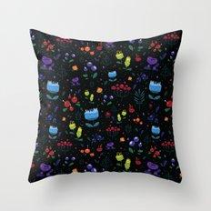 Magical berries Throw Pillow