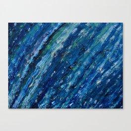 silver wind Canvas Print