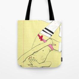 Pink undies love. Tote Bag