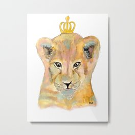 Born to be king Metal Print