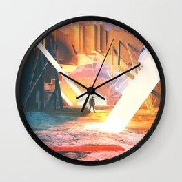 Stone Light Wall Clock