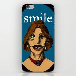 Smiler iPhone Skin