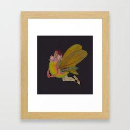 Japanese Fairy Framed Art Print