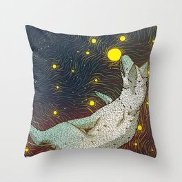 Star Eaters Throw Pillow