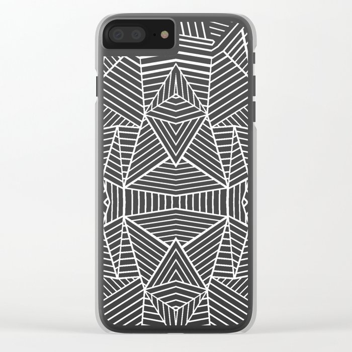 Ab Extreme Clear iPhone Case