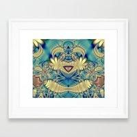 teddy bear Framed Art Prints featuring Teddy by Shalisa Photography