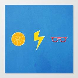 OKC Thunder Canvas Print
