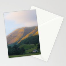 Golden Mountain Sunset Stationery Cards