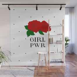 The Future is Female - Girl Power Wall Mural