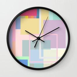 Colours07 Pantone color palettes Wall Clock