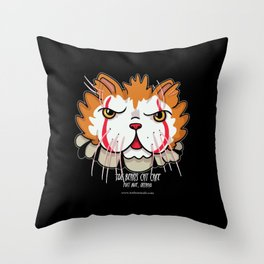 Pugsley-Wise Throw Pillow