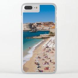Banje Beach Clear iPhone Case