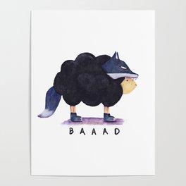 Baaad Baaad Black Sheep Poster