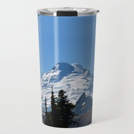 Snow Cap on the Mountain Travel Mug
