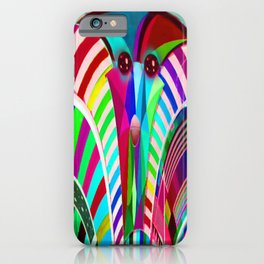 Colorful Apparition iPhone Case