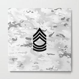 Master Sergeant (Winter Camo) Metal Print